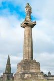 Памятник Джна Knox, некрополь, Глазго Стоковые Фото