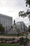 Памятник Дэвида Глазго Farragut в парке от округа Колумбия США Вашингтона Стоковое Изображение RF