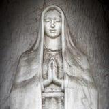 Памятник девой марии стоковое фото rf