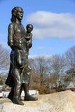 Памятник жен рыболовов, Глостер, Massetuchettes Стоковые Изображения RF