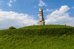 Памятник защитников побережья памятник в Гданьске стоковое фото rf