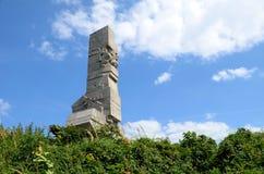 Памятник защитников побережья на Westerplatte стоковые изображения