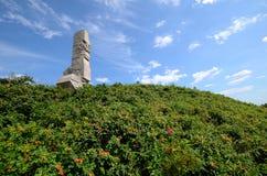 Памятник защитников побережья на Westerplatte стоковое изображение rf