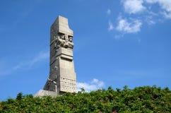 Памятник защитников побережья на Westerplatte стоковые фото