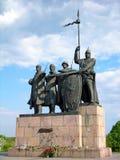 памятник защитников chernigiv к стоковые фото