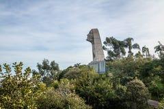 Памятник Иисуса тысячелетия Иисуса Terceiro Milenio третий - Caxias делает Sul, Rio Grande do Sul, Бразилию Стоковые Фото