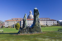 Памятник и Santuario de Сан Ignacio de Loyola. Стоковое Изображение