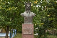 Памятник конематки Stefan cel Стоковые Изображения RF