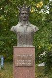 Памятник конематки Stefan cel Стоковая Фотография