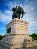 Памятник короля Naresuan стоковые фото