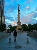 Памятник Колумбуса Стоковые Изображения