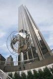 Памятник круга Колумбуса, Нью-Йорк Стоковые Изображения