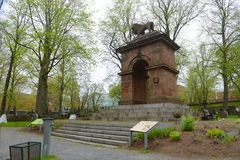 Памятник крымской войны, Halifax, Новая Шотландия, Канада Стоковая Фотография RF