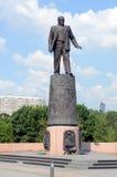 Памятник к академику Korolev в Москве стоковые изображения
