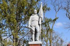 Памятник к великой победе Иллюстрация вектора