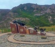 Памятник к водителям Стоковое фото RF