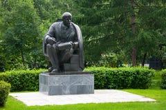 Памятник к Владимиру Ленину в Москве 13 07 2017 Стоковые Изображения RF