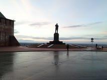 Памятник к В P Chkalov стоковая фотография rf