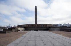 Памятник к героикоромантическим защитникам Ленинграда стоковые изображения rf