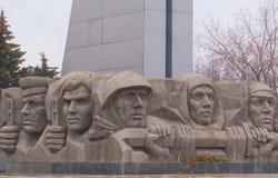 Памятник к героям Великой Отечественной войны Стоковая Фотография RF