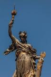 Памятник к героям независимости 10-ое августа 1809 в Кито, эквадоре Стоковое Изображение