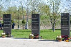 Памятник к героям Стоковые Фото