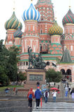 Памятник к гражданину Minin и принцу Pozharsky стоковые изображения rf