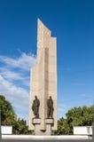Памятник к защитникам Омск стоковые фото