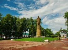 Памятник к Ивану Susanin в Kostroma Стоковое фото RF