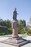 Памятник к императрице к Катрину II стоковое изображение rf