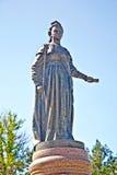 Памятник к императрице к Катрину II стоковые изображения rf