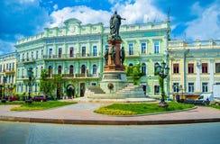 Памятник к императрице Стоковая Фотография