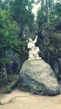 Памятник к концу мира стоковое фото