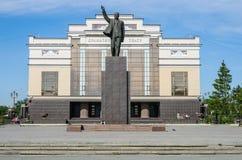 Памятник к Ленину Стоковое фото RF