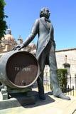 Памятник к Манюэлю Марии Gonzalez в Jerez, Испании стоковые фото