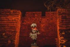 Памятник к маленькому повстанцу, Варшава 2, Польша Стоковые Фотографии RF