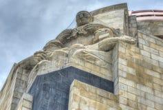 Памятник к мексиканской революции стоковая фотография