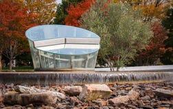 Памятник к 8:15 на мире мемориальном Hall Хиросимы национальном для Стоковое фото RF