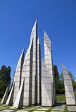 Памятник к общине Maia стоковые изображения