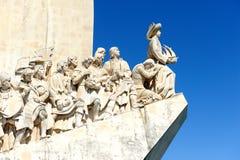 Памятник к открытиям, Лиссабон, Португалия Стоковое Изображение