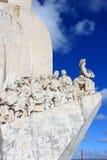 Памятник к открытиям Стоковые Фото