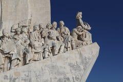 Памятник к открытиям Belem Лиссабону Стоковые Изображения RF