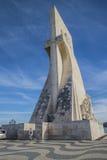 Памятник к открытиям (dos Descobrimentos Padrão) Стоковая Фотография