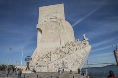 Памятник к открытиям (dos Descobrimentos Padrão) Стоковые Фото