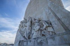 Памятник к открытиям (dos Descobrimentos Padrão) Стоковая Фотография RF