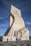 Памятник к открытиям (dos Descobrimentos Padrão) Стоковые Изображения RF