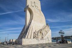 Памятник к открытиям (dos Descobrimentos Padrão) Стоковое Изображение RF