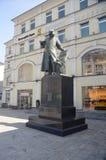 Памятник к первому printmaker Ивану Fyodorov стоковое фото