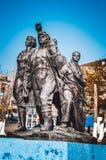 Памятник к первым построителям Стоковые Фото