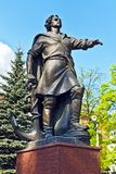 Памятник к Питеру большой. Калининград (Koenigsberg перед 1946), Россия Стоковая Фотография RF